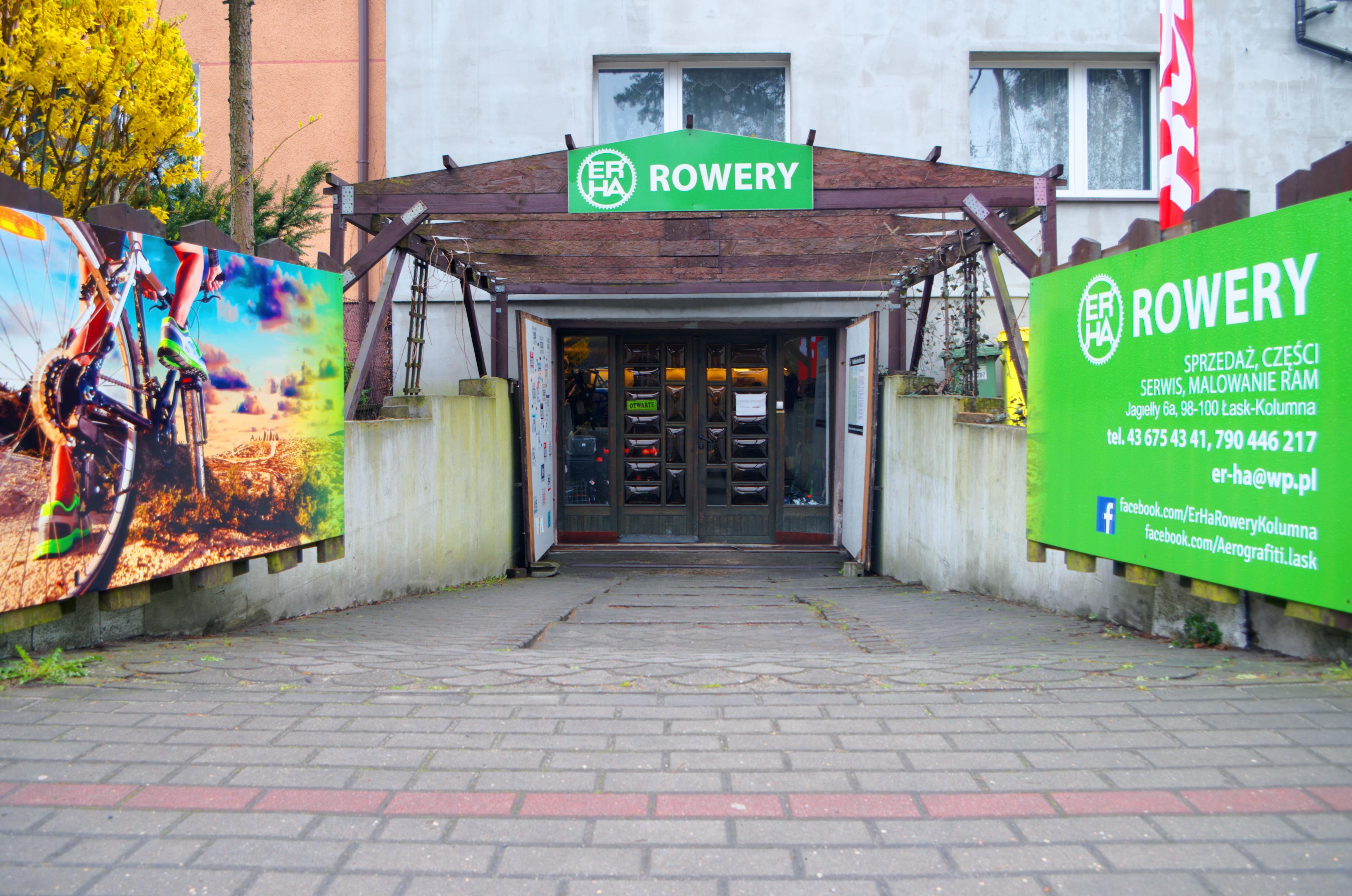 ERHA Rowery Sklep i serwis rowerowy Łask Kolumna