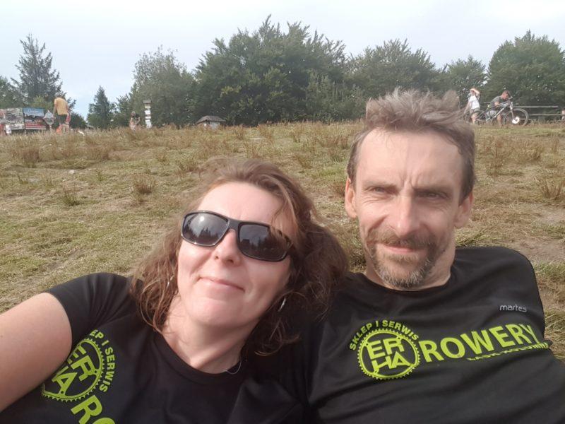 Marta i Mariusz ER-HA Rowery Team