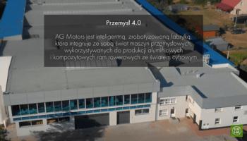 Zrobotyzowana fabryka rowerów AGMotors