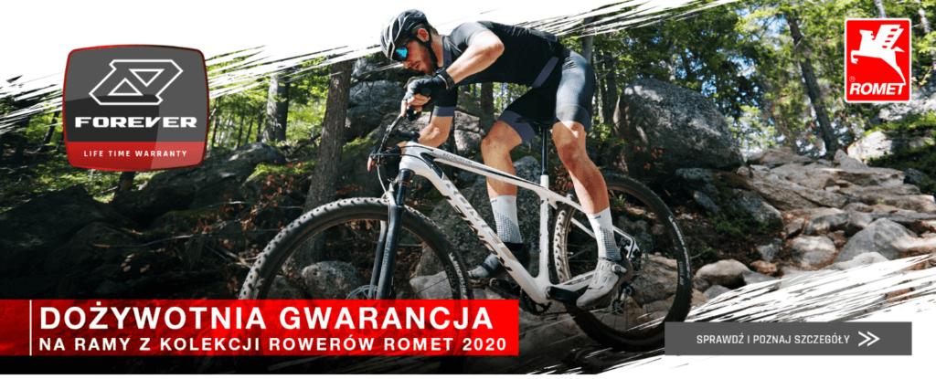 Dożywotnia gwarancja ROMET na ramy z kolekcji Rowerów Romet 2020
