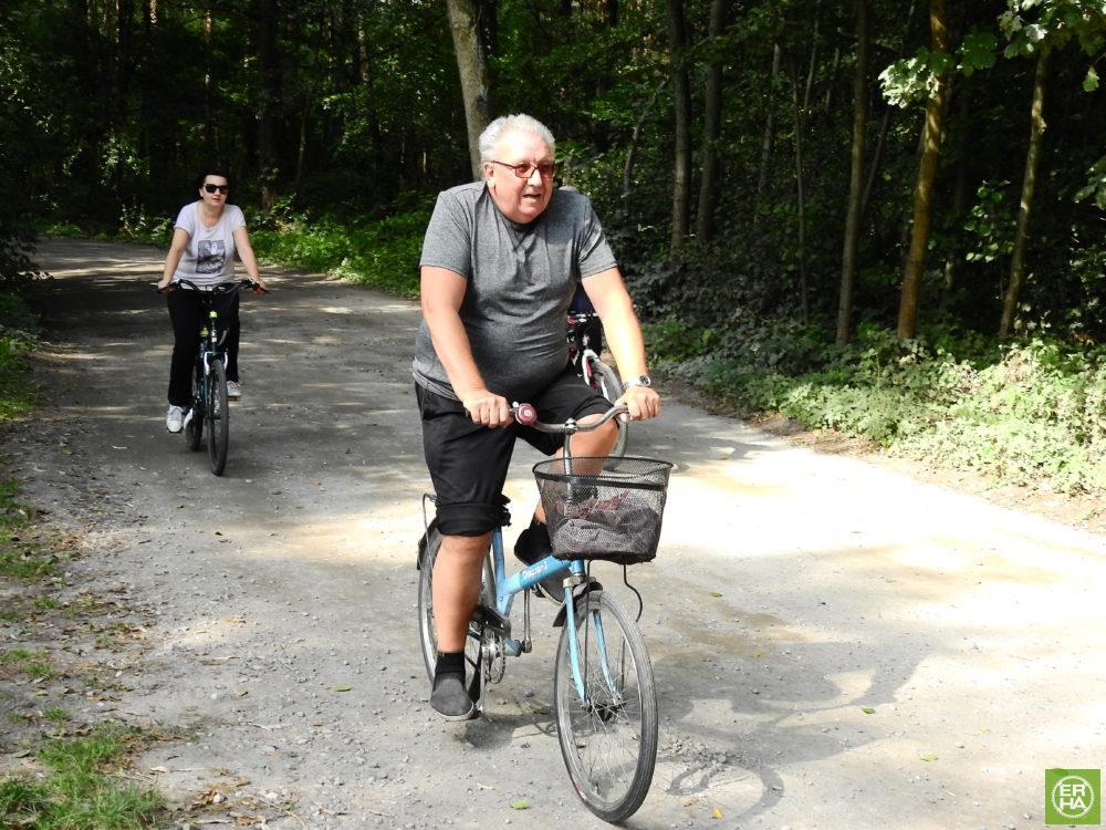 Wycieczka ER-HA Rowery i Przyjaciele - Osada Dwa Młyny Talar 5 fot. Piotr Zapała Pociąg do Kolumny