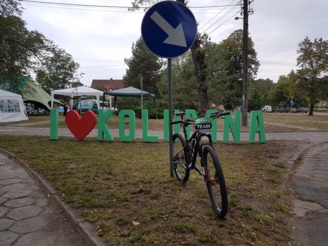 Wycieczka ER-HA Rowery i Przyjaciele - Osada Dwa Młyny Talar 7 fot. Piotr Zapała Pociąg do Kolumny