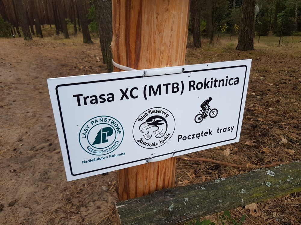 Wycieczka ER-HA Rowery i Przyjaciele - Trasa XC Rokitnica fot. Marta Stradomska Pociąg do Kolumny