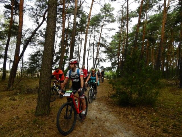 Wycieczka ER-HA Rowery i Przyjaciele - W lesie fot. Piotr Zapała Pociąg do Kolumny