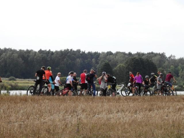 Wycieczka ER-HA Rowery i Przyjaciele - Zbiornik w Dobroniu fot. Piotr Zapała Pociąg do Kolumny