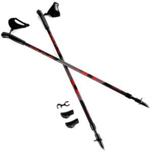 Kije Nordic Walking Spokey ZIGZAG II regulowane 105-135 cm