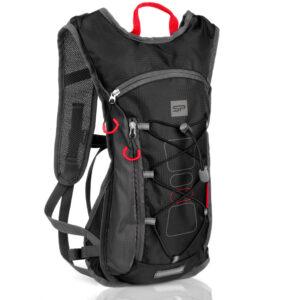 Plecak rowerowy sportowy Spokey FUJI 5L wodoodporny czarno-szary