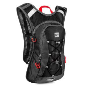 Plecak rowerowy sportowy Spokey OTARO 7L czarno-szary