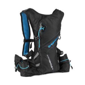 Plecak rowerowy sportowy Spokey Sprinter 5L wodoodporny czarno-niebieski