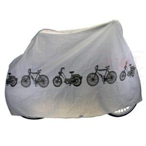 Pokrowiec przeciwdeszczowy na rower szary
