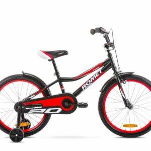 Rower dziecięcy Romet Tom 20 czarno-czerwony