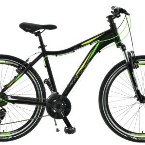 Rower górski KANDS Slim-R 26 czarno-seledynowy mat