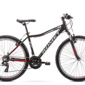 Rower górski MTB Romet Rambler R6.1 JR 26 czarno-czerwony