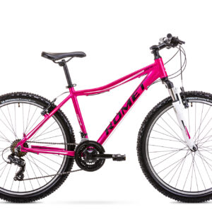 Rower górski MTB damski Romet Jolene 6.1 26 różowy