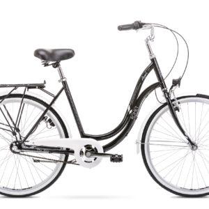 Rower miejski Romet Angel 26 3 biegi czarny