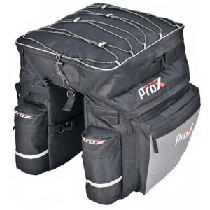 Sakwa rowerowa na bagażnik ProX Montana 602 43L wodoodporna czarna