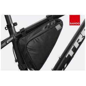 Sakwa rowerowa pod ramę trójkątna ROSWHEEL SAHOO 1,5L czarna