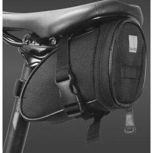 Sakwa rowerowa pod siodło ROSWHEEL 1L wodoodporna czarna