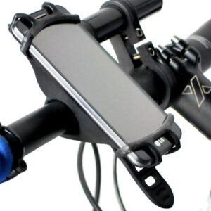 Uchwyt rowerowy na telefon smartfona na kierownicę X-Light czarny