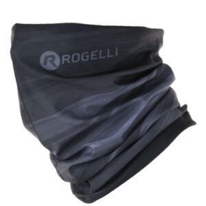 Komin sportowy Rogelli oddychający czarno-różowy