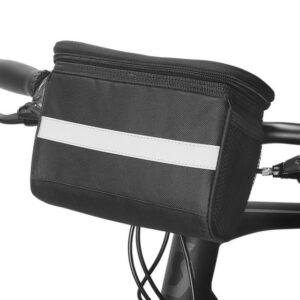 Sakwa rowerowa na kierownicę ROSWHEEL 3,5L czarna