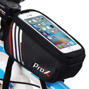 Sakwa rowerowa na ramę ProX Nevada 207 na telefon 1,2L czarno-czerwona