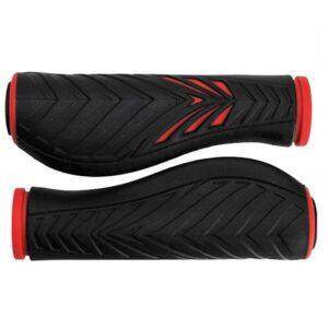 Chwyty rowerowe Velo ProX Comfort Gel czerwono-czarne