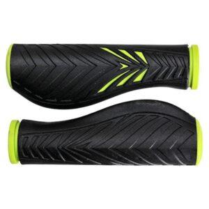 Chwyty rowerowe Velo ProX Comfort Gel zielono-czarne
