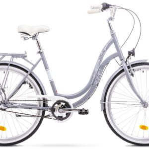 Rower miejski Romet Angel 26 3 biegi szary