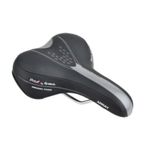 Siodełko rowerowe Velo ProX Gemini VENUS Trekking komfortowe czarne