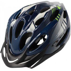 Kask rowerowy B-Skin Regular niebiesko-zielony