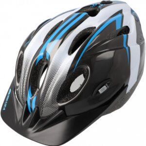 Kask rowerowy B-Skin Tomcat czarno-niebieski