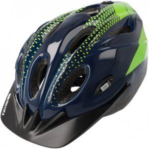Kask rowerowy B-Skin Tomcat granatowo-zielony