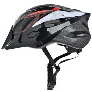 Kask rowerowy ProX Thunder czarno-czerwony