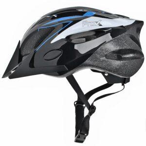 Kask rowerowy ProX Thunder czarno-niebieski