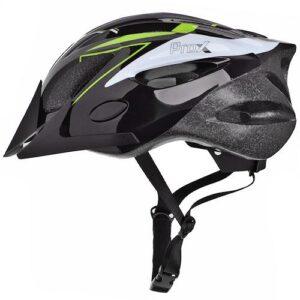 Kask rowerowy ProX Thunder czarno-zielony