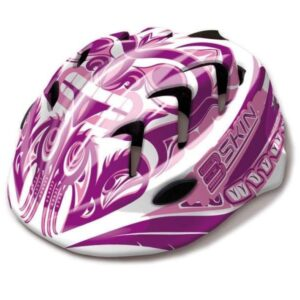 Kask rowerowy dziecięcy B-Skin Kidy Pro biało-różowy