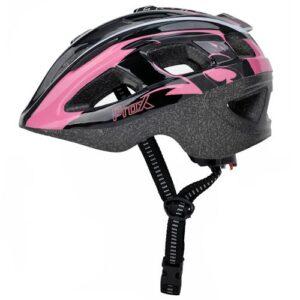 Kask rowerowy dziecięcy ProX Armor czarno-różowy