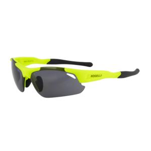 Okulary sportowe Rogelli Raptor wymienne soczewki żółty