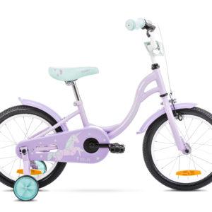 Rower dziecięcy Romet Tola 16 różowo-turkusowy