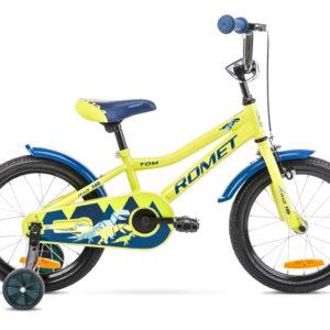 Rower dziecięcy Romet Tom 16 zielony