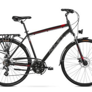 Rower trekkingowy Romet Wagant 2 28 czarno-czerwony