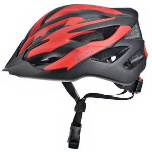 Kask rowerowy ProX Thumb czarno-czerwony