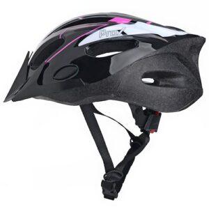 Kask rowerowy ProX Thunder czarno-różowy