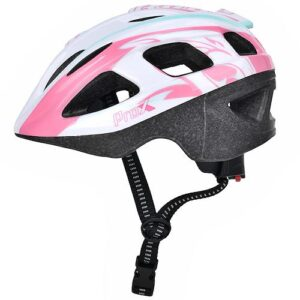 Kask rowerowy dziecięcy ProX Armor biało-różowy