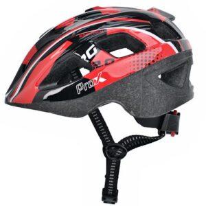 Kask rowerowy dziecięcy ProX Armor czerwony