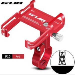 Uchwyt rowerowy na telefon smartfona na kierownicę GUB P10 czerwony