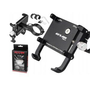 Uchwyt rowerowy na telefon smartfona na kierownicę GUB Pro 2 czarny