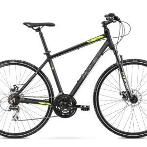 Rower crossowy Romet Orkan 1M 28 czarno-zielony