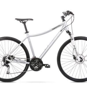 Rower crossowy Romet Orkan 3D 28 srebrny